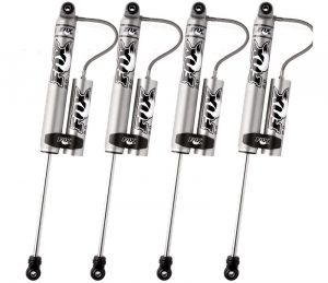 "Fox 4-6"" Front 4-6"" Rear Lift Shocks for GMC Sierra 2500HD 11-15"