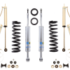 """Bilstein 6112 0.75-2.5"""" Front and 5160 0-1"""" lift kit for 2007-2016 Toyota Tundra"""