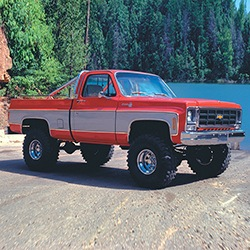 """SuperLift 6"""" GM Suspension Lift Kit with Rear Springs - for 1973-1991 Solid Axle Chevy/GMC 1500 Suburban 4WD"""