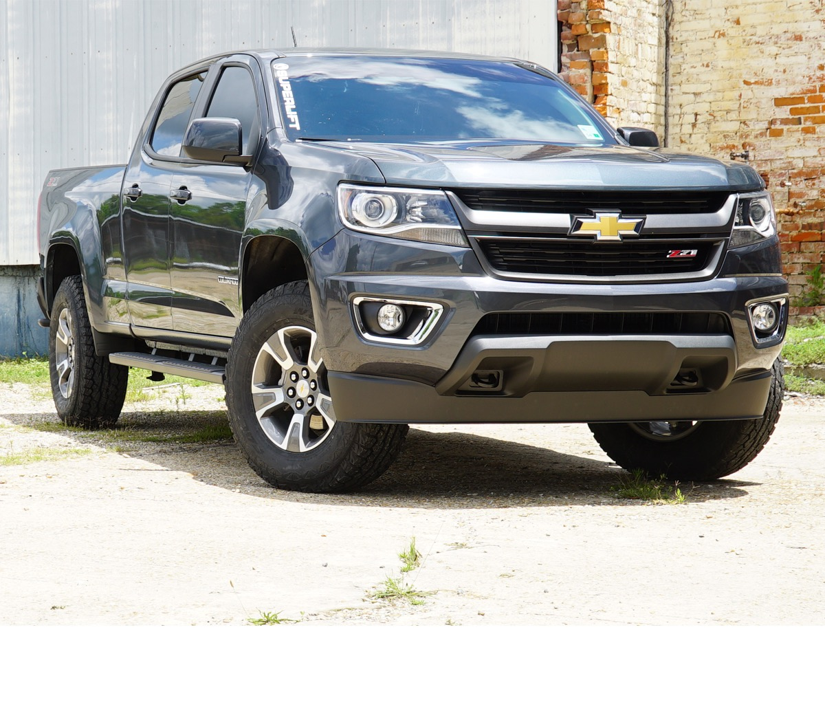 superlift 2 leveling kit for chevy gmc 2016 colorado canyon 2 and 4wd. Black Bedroom Furniture Sets. Home Design Ideas