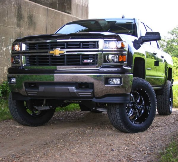 """SuperLift 8"""" Lift Kit for 2007-2016 Chevy Silverado and GMC Sierra 1500 4WD with Cast Steel Control Arms"""