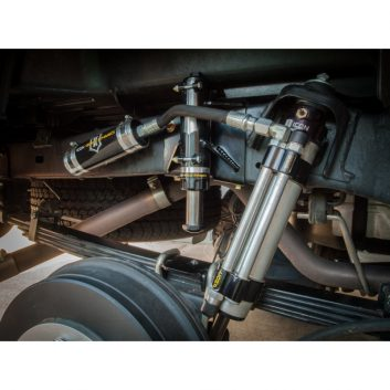 ICON Rear Hydraulic Air Bumpstop System for 2005-2015 Toyota Tacoma